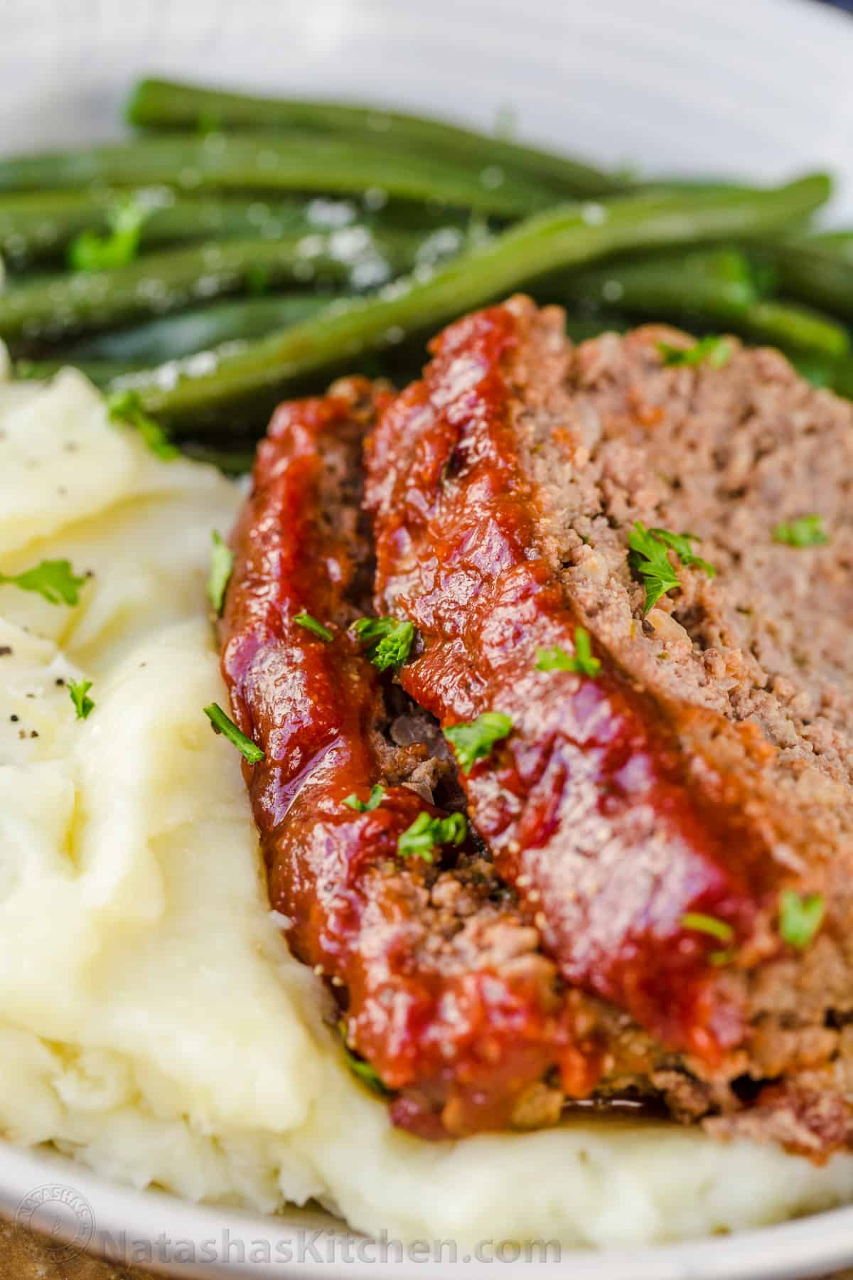 Meatloaf Recipe with the Best Glaze